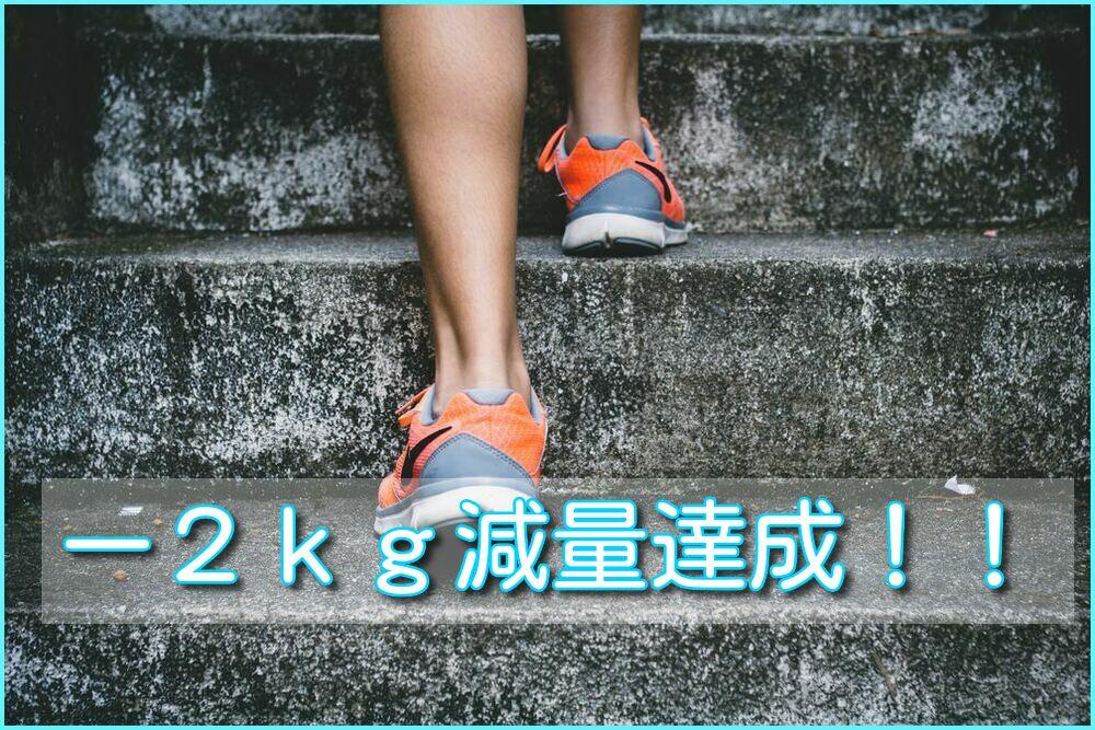 【健康】レコーディングダイエットの経過報!とりあえず-2kg達成!